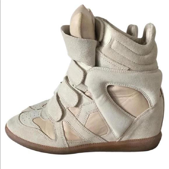 c809b3036d0 BRAND NEW! Isabel Marant Bekett Wedge Sneakers
